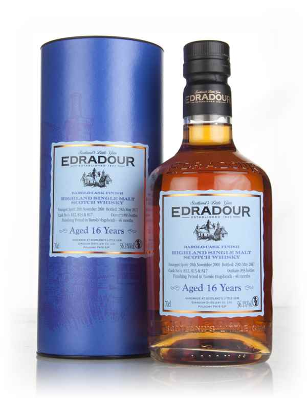 Edradour 16 Year Old 2000 - Barolo Cask Finish 56.1%