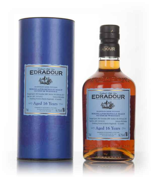 Edradour 16 Year Old 2000 - Barolo Cask Finish