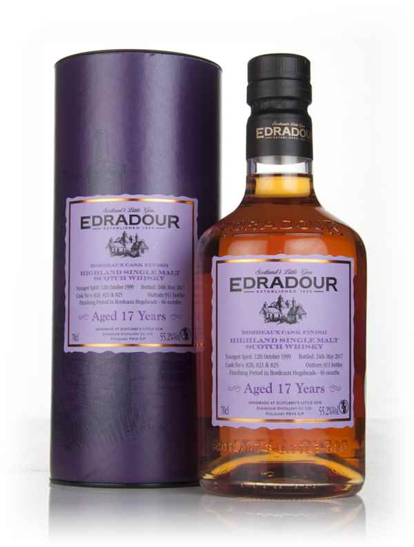 Edradour 17 Year Old 1999 - Bordeaux Cask Finish (55.2%)