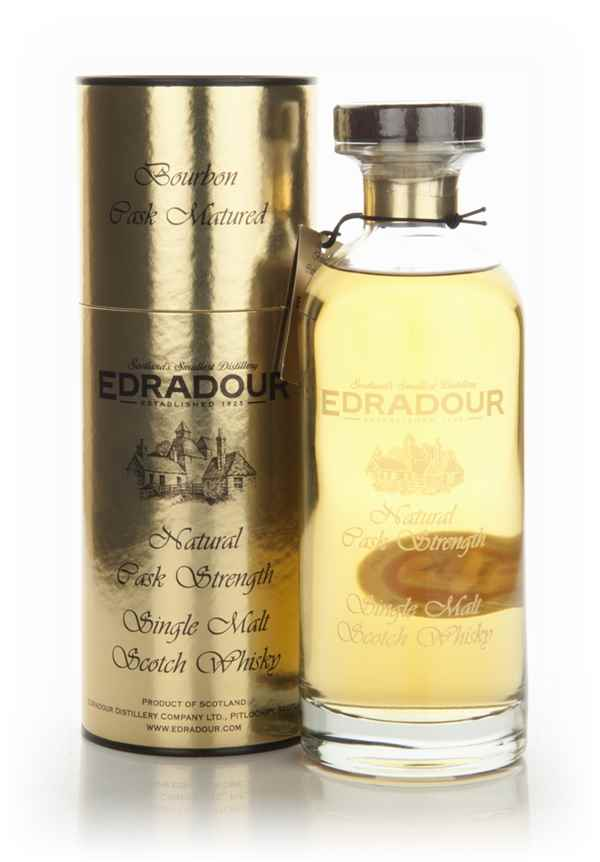 Edradour 2003 (3rd Release) Bourbon Cask Matured Natural Cask Strength - Ibisco Decanter