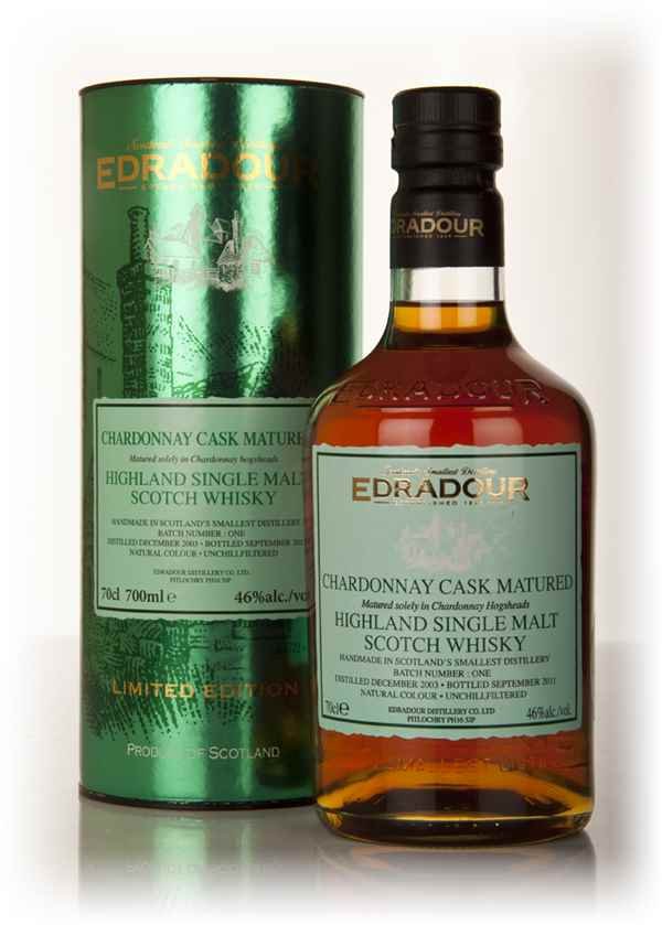 Edradour 2003 Chardonnay Cask Matured - Batch 1