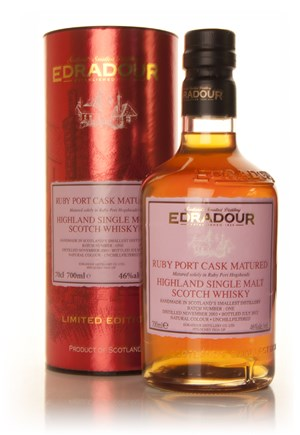 Edradour port cask matured