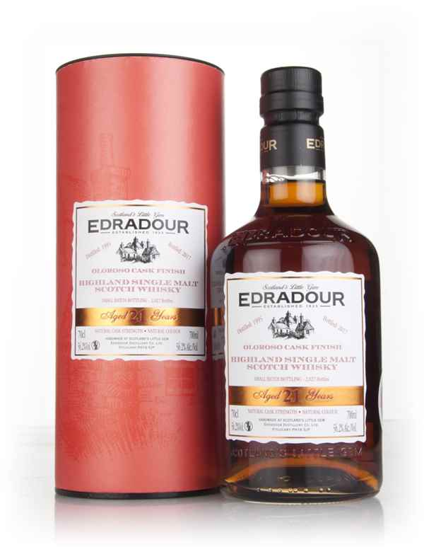 Edradour 21 Year Old 1995 - Oloroso Cask Finish