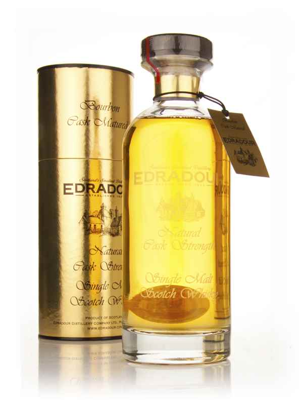 Edradour Natural Cask Strength Bourbon