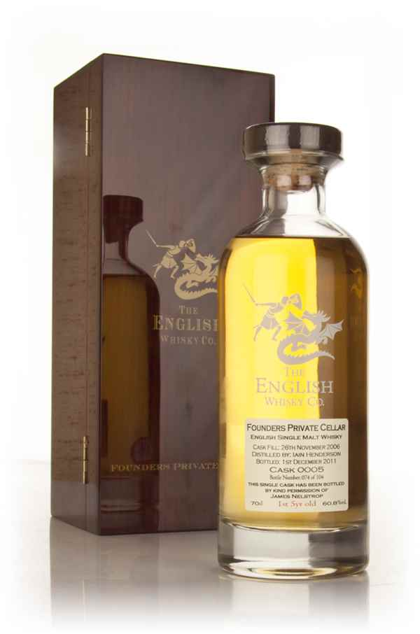 English Whisky Co. Founders Private Cellar #0005