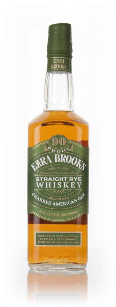 Ezra Brooks Straight Rye Whiskey