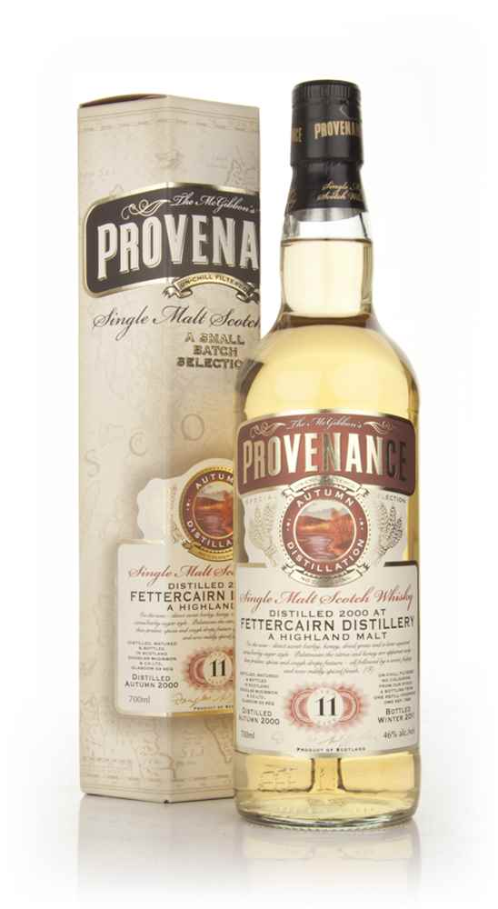 Fettercairn 11 Year Old 2000 - Provenance (Douglas Laing)