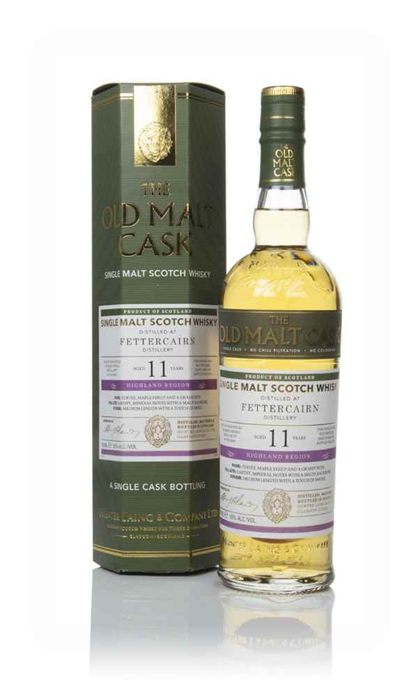 Fettercairn 11 Year Old 2008 (cask 16646) - Old Malt Cask (Hunter Laing)