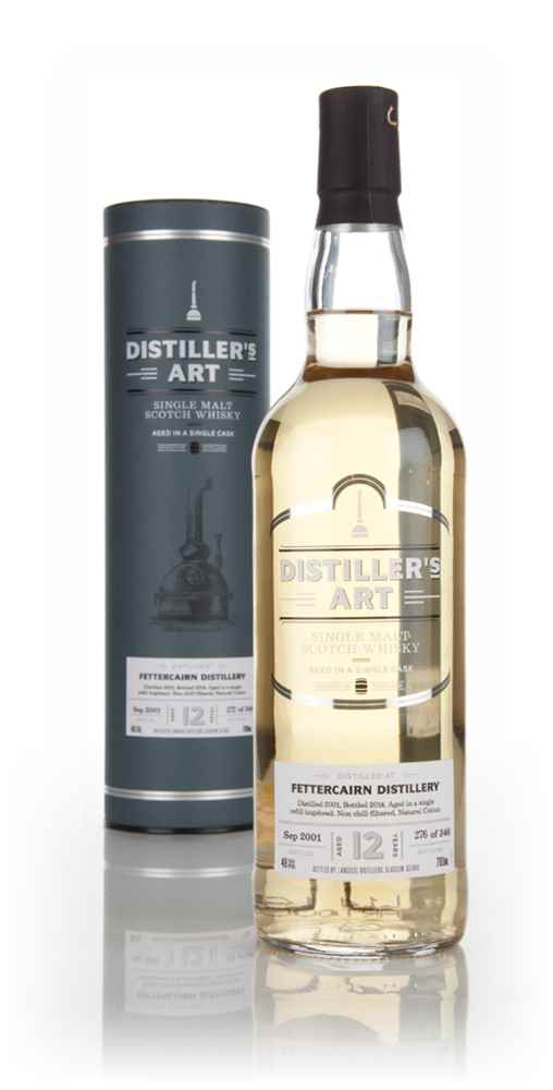 Fettercairn 12 Year Old 2001 - Distiller's Art (Langside)