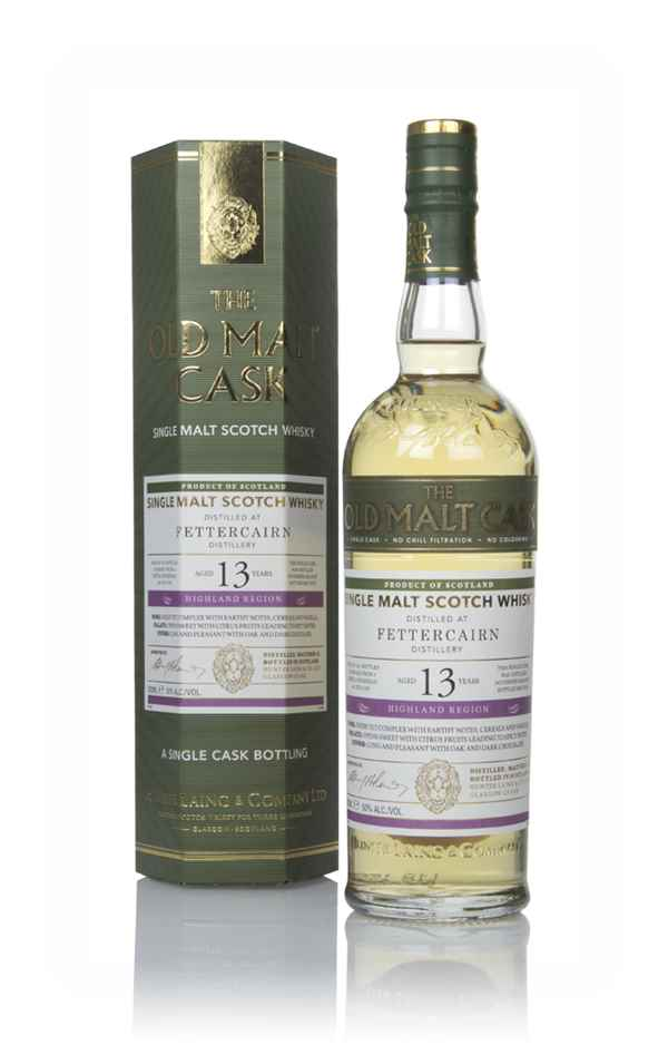 Fettercairn 13 Year Old 2004 (cask 15139) - Old Malt Cask (Hunter Laing)