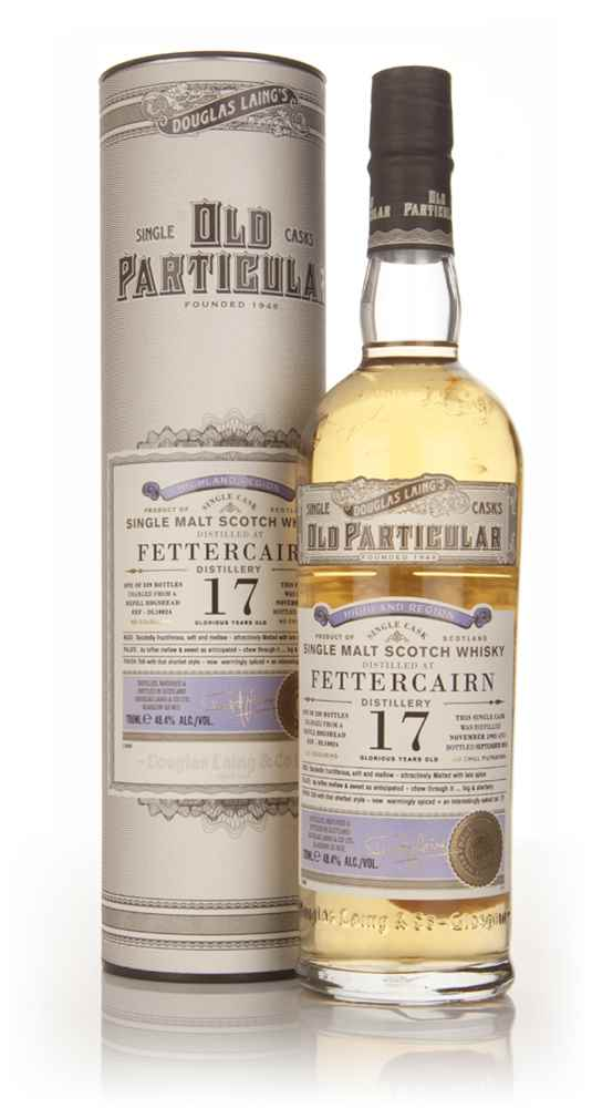 Fettercairn 17 Year Old 1995 (cask 10024) - Old Particular (Douglas Laing)
