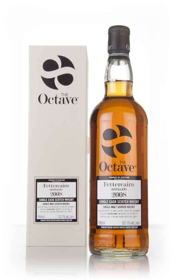 Fettercairn 8 Year Old 2008 (cask 1212819) - The Octave (Duncan Taylor)