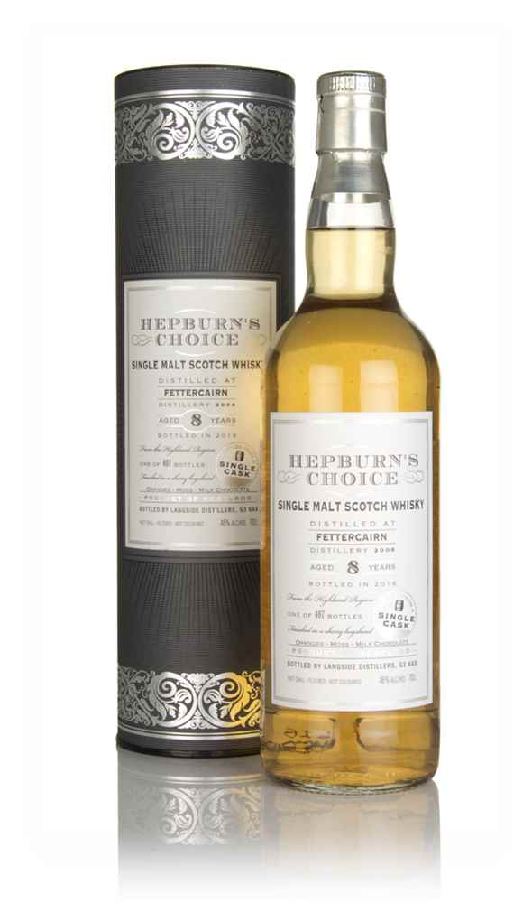 Fettercairn 8 Year Old 2008 - Hepburn's Choice (Langside)
