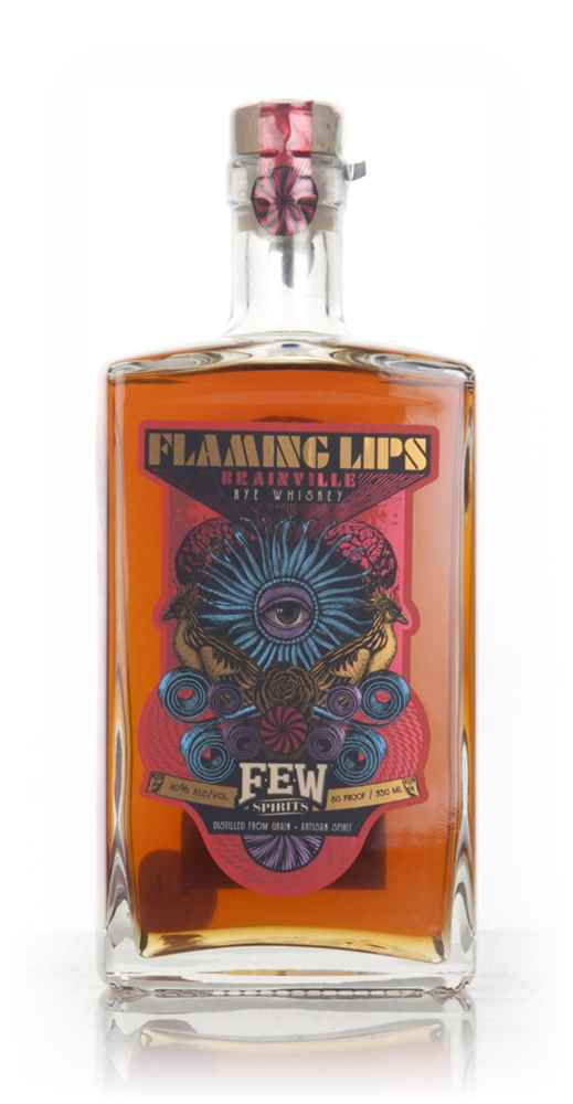 FEW & The Flaming Lips Brainville Rye Whiskey