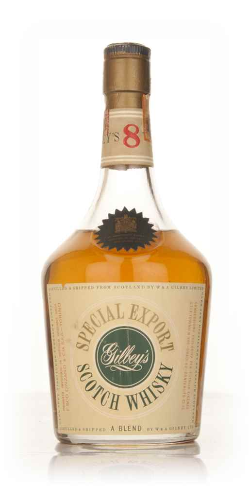 Gilbey's 8 Year Old Special Export - 1950s