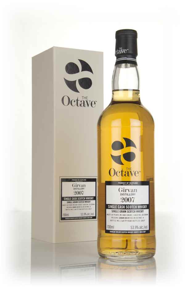 Girvan 10 Year Old 2007 (cask 2115544) - The Octave (Duncan Taylor)