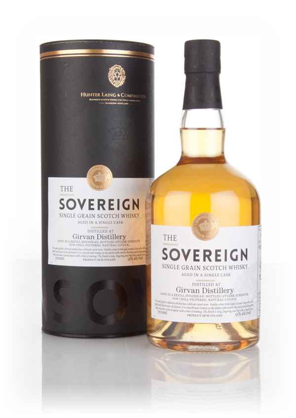 Girvan 36 Year Old 1979 (cask 12276) - The Sovereign (Hunter Laing)