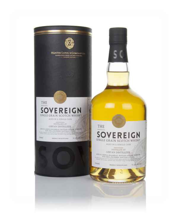Girvan 40 Year Old 1979 (cask 16637) - The Sovereign (Hunter Laing)