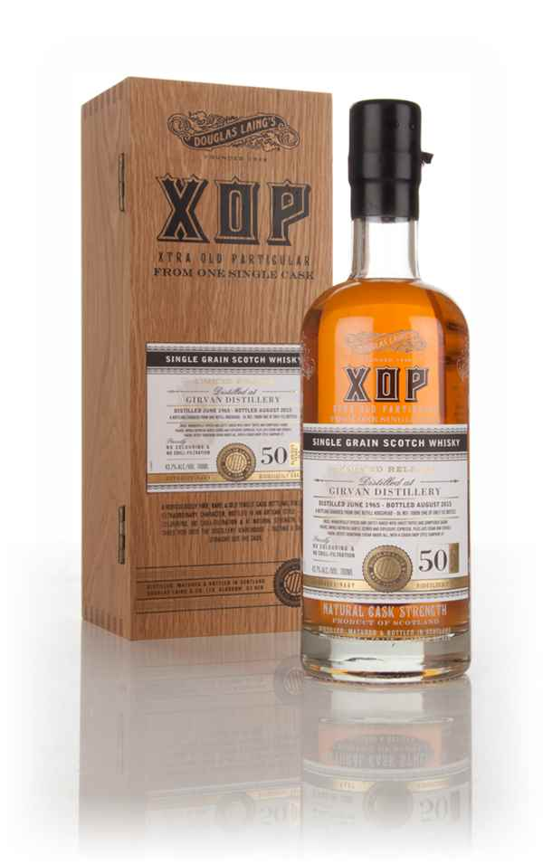 Girvan 50 Year Old 1965 (cask 10896) - Xtra Old Particular (Douglas Laing)