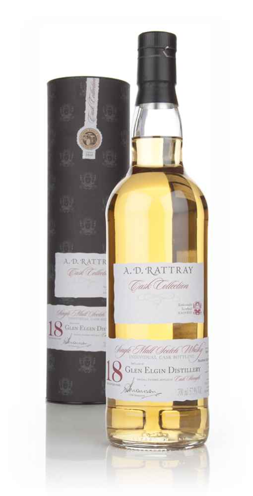 Glen Elgin 18 Year Old 1995 (cask 1650) - Cask Collection (A.D. Rattray)