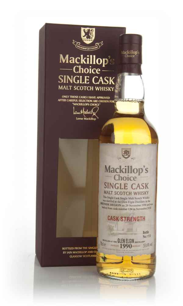 Glen Elgin 1990 (cask 134) - Mackillop's Choice (bottled 2010)