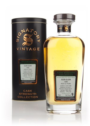 Glen Elgin 22 Year Old 1990 (cask 7874+7876) - Cask Strength Collection (Signatory)