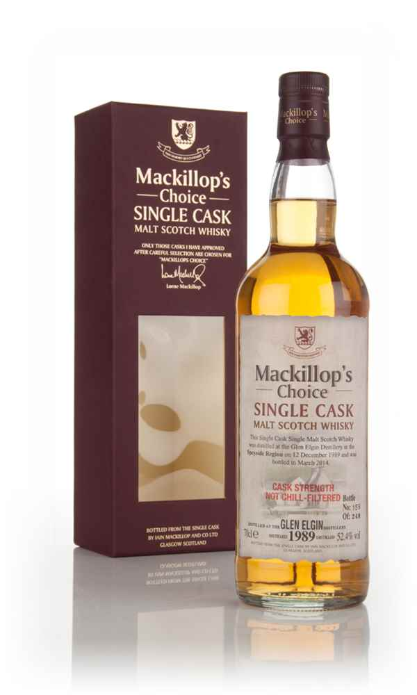 Glen Elgin 24 Year Old 1989 - Mackillop's Choice