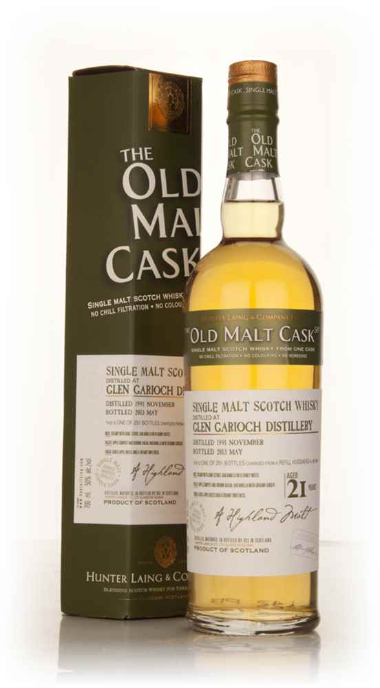 Glen Garioch 21 Year Old 1991 (cask 9809) - Old Malt Cask (Hunter Laing)