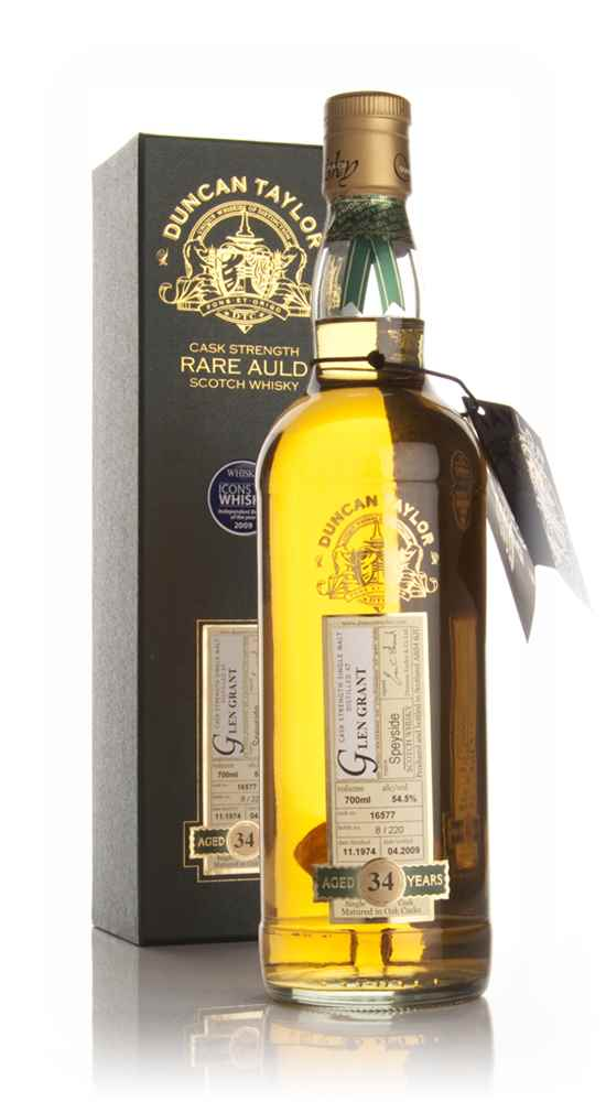 Glen Grant 34 Year Old 1974 - Rare Auld (Duncan Taylor)