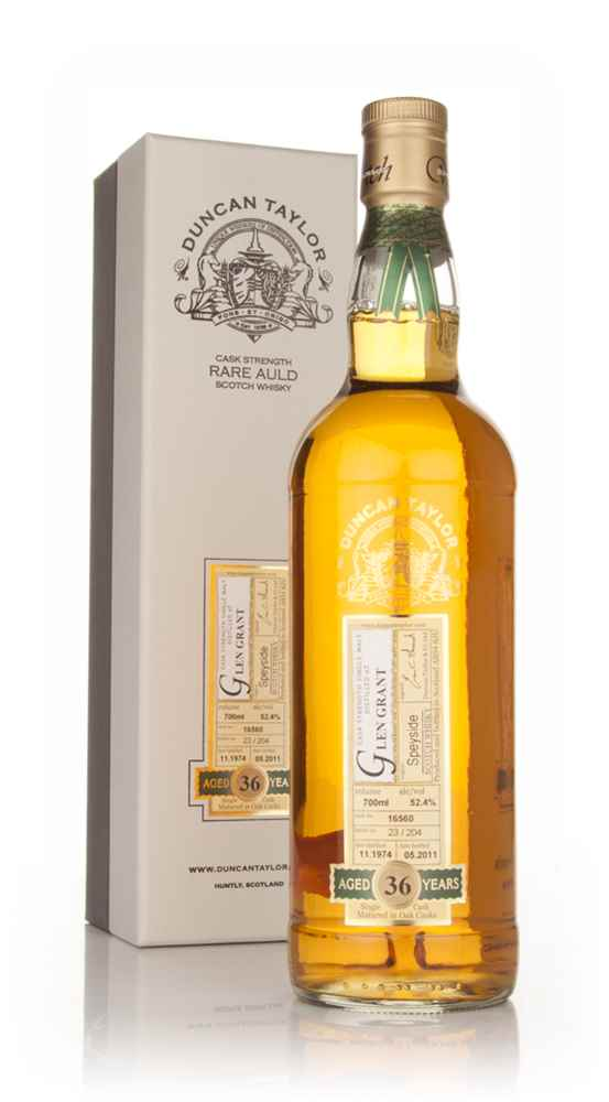 Glen Grant 36 Year Old 1974 - Rare Auld (Duncan Taylor)