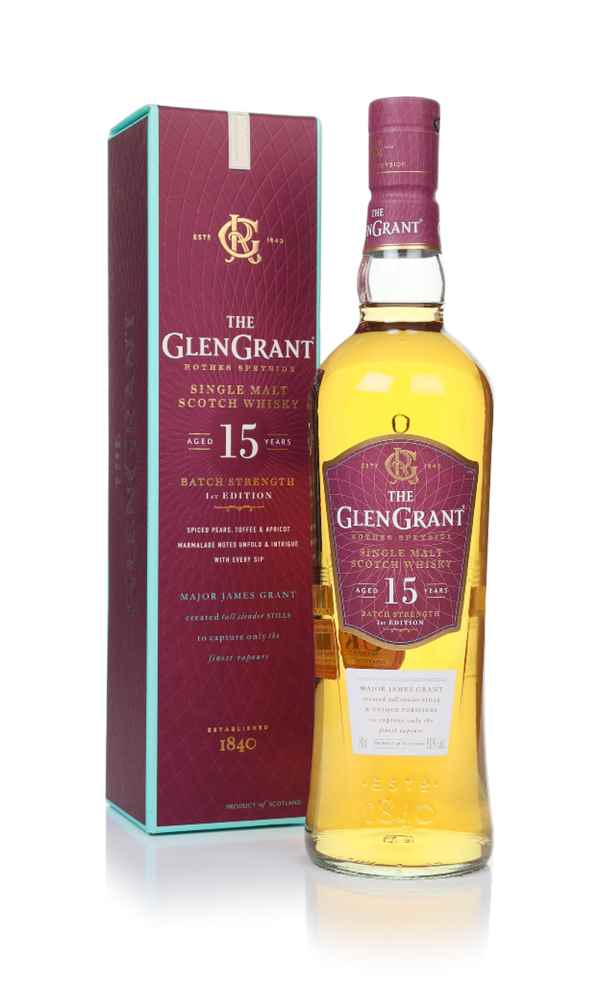 Glen Grant 15 Year Old Batch Strength