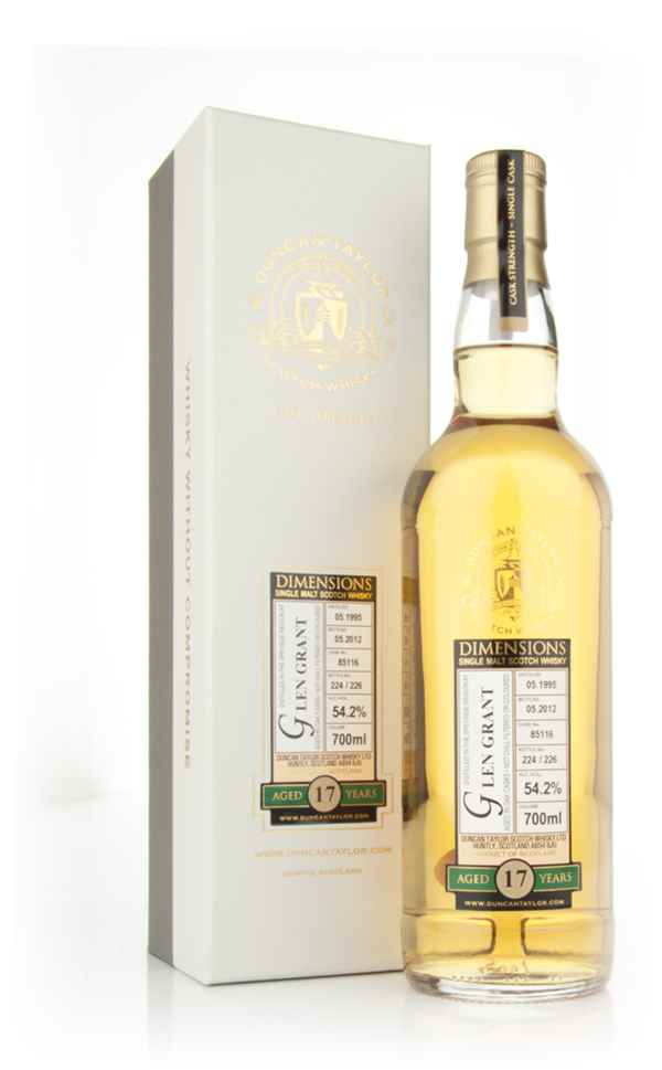 Glen Grant 17 Year Old 1995 - Dimensions (Duncan Taylor)