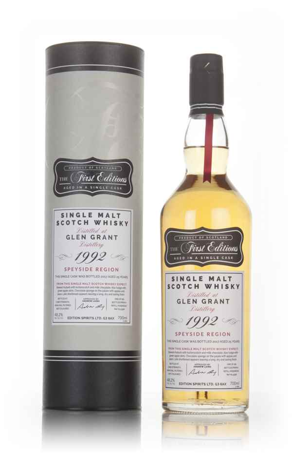 Glen Grant 25 Year Old 1992 (cask 13358) - The First Editions (Hunter Laing)