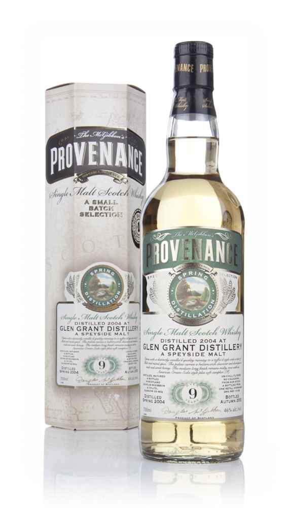 Glen Grant 9 Year Old 2004 (cask 10156) - Provenance (Douglas Laing)