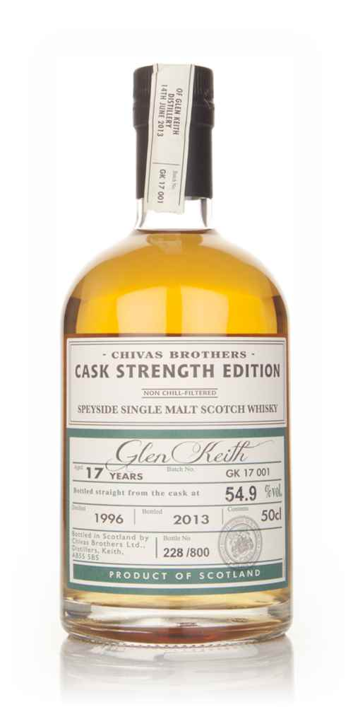 Glen Keith 17 Year Old 1996 - Cask Strength Edition (Chivas Brothers)