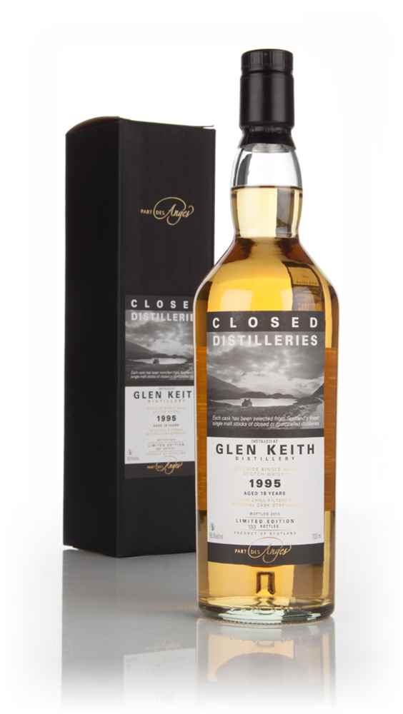 Glen Keith 18 Year Old 1995 - Closed Distilleries (Part Des Anges)