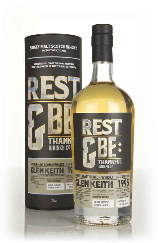 Glen Keith 21 Year Old 1995 (cask 171288) (Rest & Be Thankful)