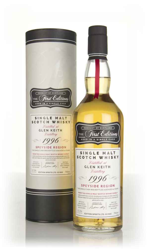 Glen Keith 21 Year Old 1996 (cask 14986) - The First Editions (Hunter Laing)