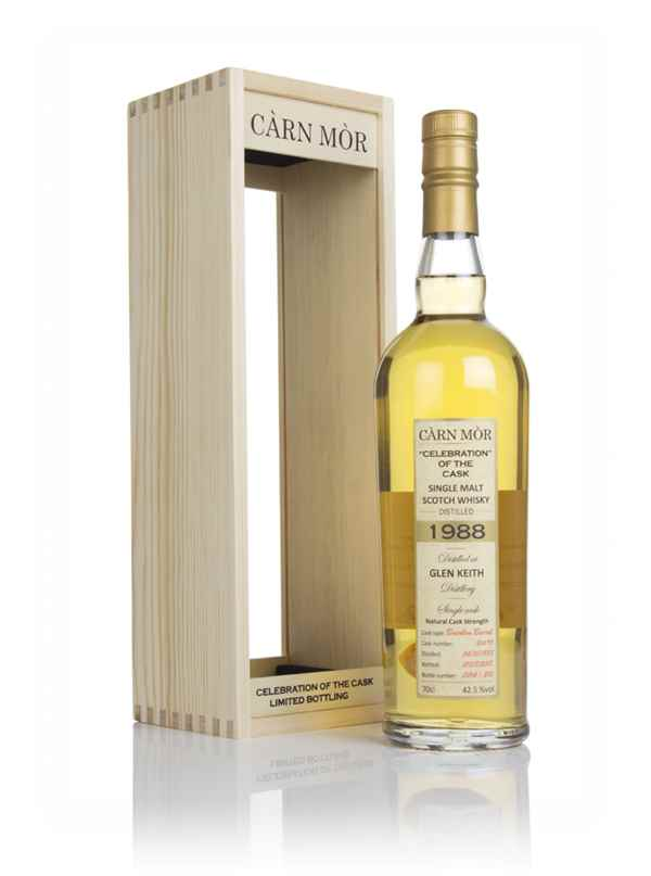 Glen Keith 29 Year Old 1988 (cask 26695) - Celebration of the Cask (Càrn Mòr)