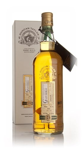 Glen Moray 21 Year Old 1988 - Rare Auld (Duncan Taylor)