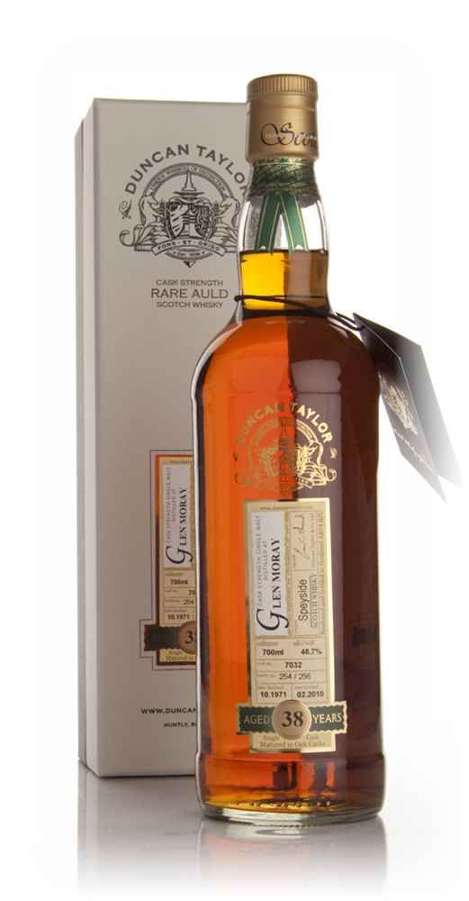 Glen Moray 38 Year Old 1971 - Rare Auld (Duncan Taylor)
