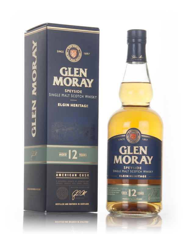 Glen Moray 12 Year Old - Elgin Heritage