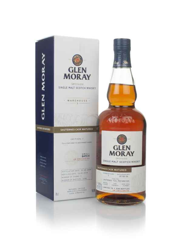 Glen Moray 14 Year Old 2006 Sauternes Cask Matured - Warehouse 1