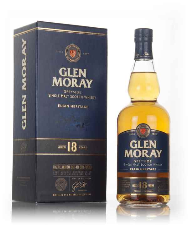 Glen Moray 18 Year Old - Elgin Heritage