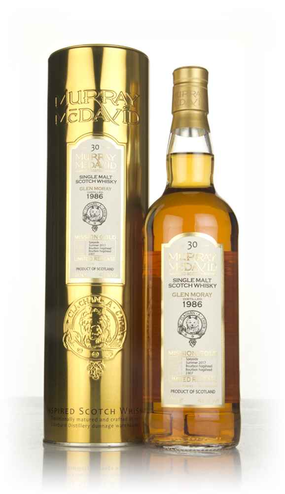 Glen Moray 30 Year Old 1986 (cask 2307) - Mission Gold (Murray McDavid)