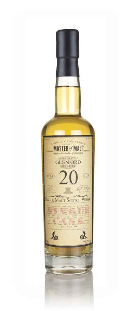 Glen Ord 20 Year Old 1997 - Single Cask (Master of Malt)