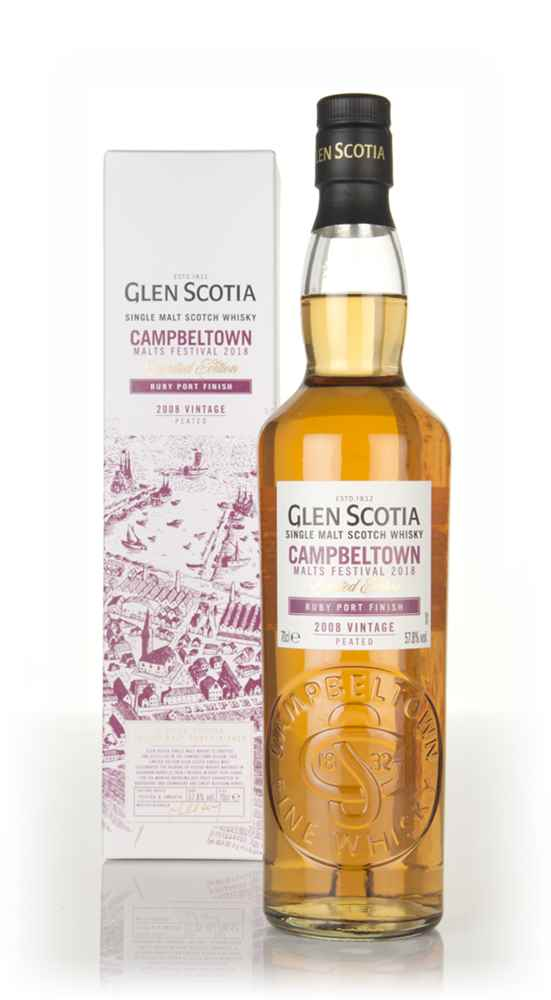 Glen Scotia 10 Year Old 2008 - Campbeltown Malts Festival 2018
