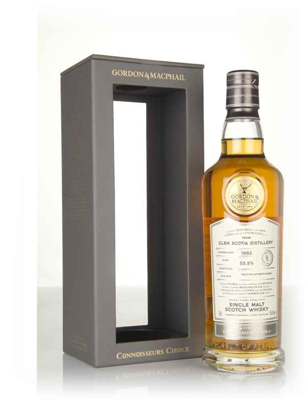 Glen Scotia 26 Year Old 1992 - Connoisseurs Choice (Gordon & MacPhail)