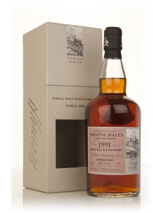 Merchant's Mahogany Chest 1991 - Wemyss Malts (Glen Scotia)