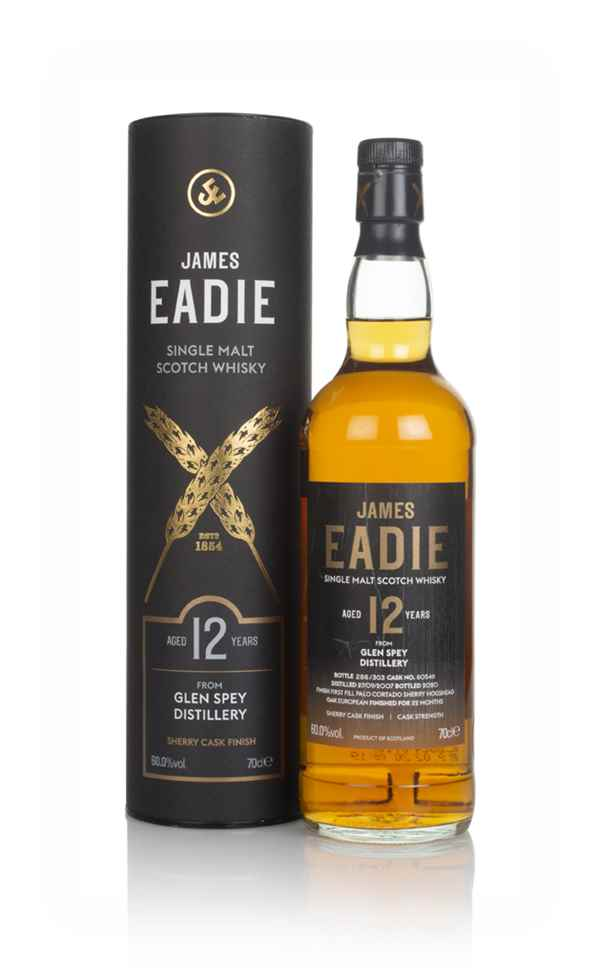 Glen Spey 12 Year Old 2007 (cask 805411) - James Eadie